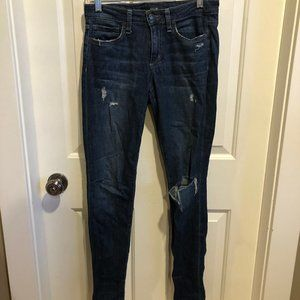 Joe's Jeans perfectly distressed skinny jeans